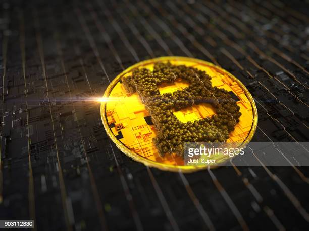 bitcoin - deep web fotografías e imágenes de stock