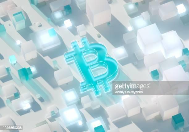 bitcoin sign - ビットコイン ストックフォトと画像