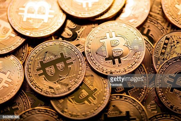 bitcoin-stack - bitcoin stock-fotos und bilder