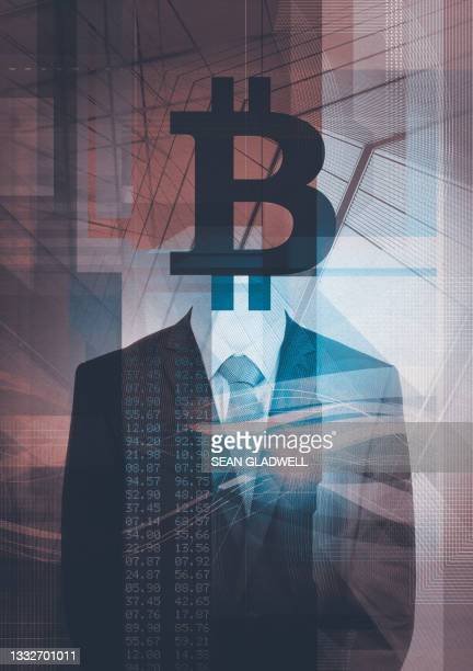 bitcoin stockbroker - one man only stock pictures, royalty-free photos & images