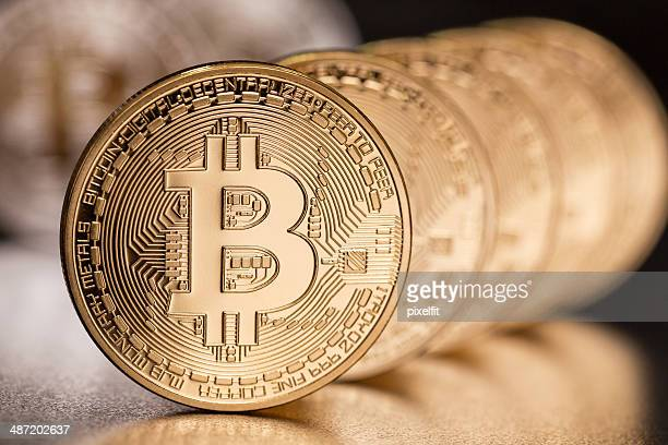 bitcoins - bitcoin stock photos and pictures
