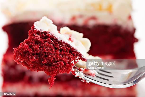Bite Of Red Velvet Cake