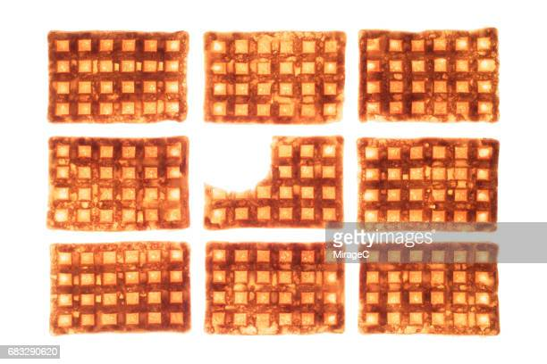 A Bite of Toasted Waffle