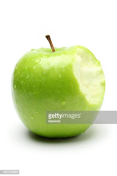 Bite on a Green Apple
