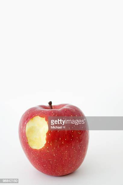 Bitten apple