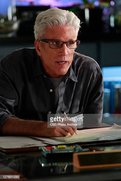 """Bittersweet"""" -- D.B. Russell makes his point as the boss but he's not afraid to take notes when others are speaking, on CSI: CRIME SCENE..."""