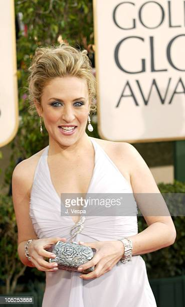 Bitty Schram during The 61st Annual Golden Globe Awards - Arrivals at The Beverly Hilton in Beverly Hills, California, United States.