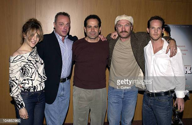 Bitty Schram, Stanley Kamel, actor / producer Tony Shalhoub, Ted Levine and Jason Gray-Stanford