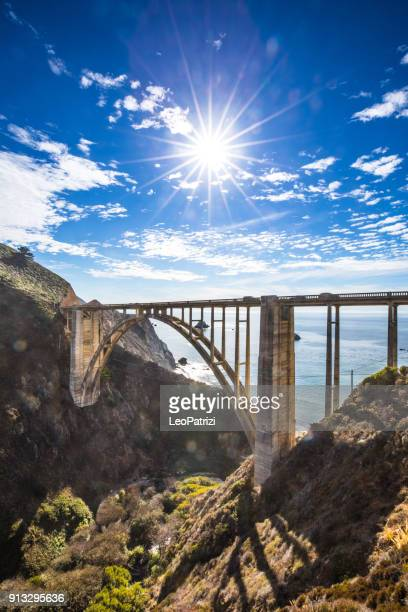 Bixby Bridge und Pacific Coast Highway 1
