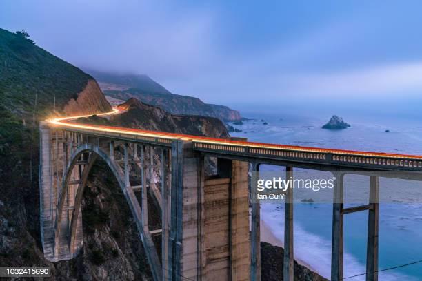 Bixby Bridge at Sunset - Big Sur, CA (Dusk)