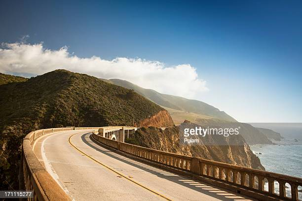 bixby bridge, big sur, california, usa - california stock pictures, royalty-free photos & images