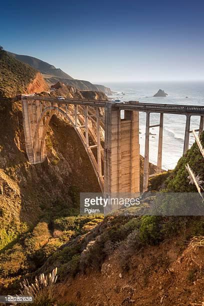 Bixby Bridge, Big Sur, Kalifornien, USA