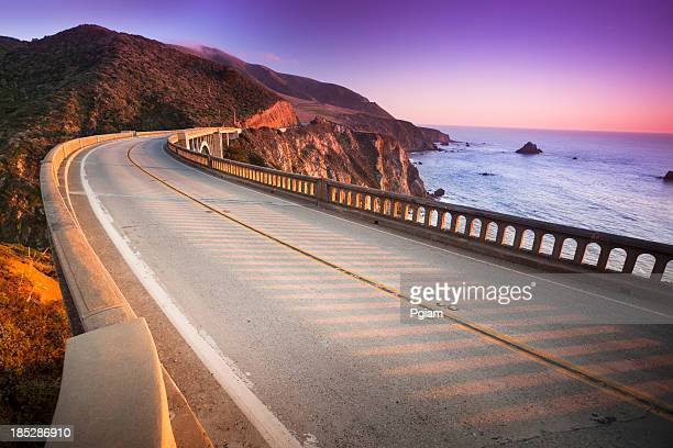Bixby Bridge, Big Sur, Kalifornien, USA