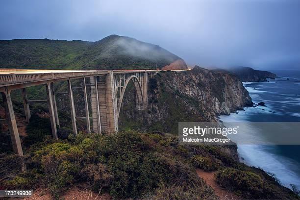 bixby bridge - big sur - big mac stock pictures, royalty-free photos & images