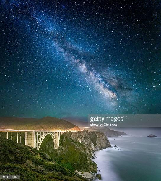Bixby Bridge by starlight