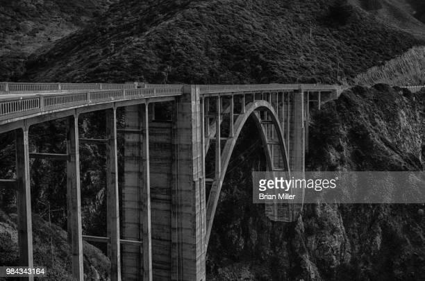 bixby bridge - bixby bridge stock photos and pictures
