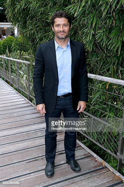 Bixente Lizarazu attends Day Height of the 2016 French Tennis Open at Roland Garros on May 29 2016 in Paris France