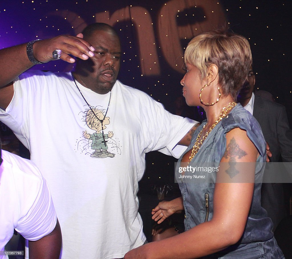 Biz Markie and Mary J. Blige attend the Tom Joyner Foundation party at Harrah's Casino on July 3, 2010 in New Orleans, Louisiana.