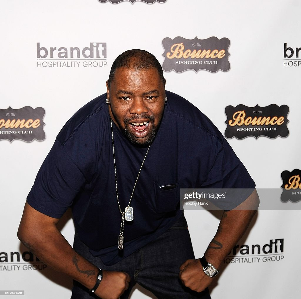 Biz Markie attends the 1 year anniversary party at Bounce Sporting Club on September 19, 2012 in New York City.