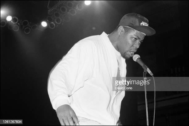 Biz Markie performing at The Fridge Brixton London UK 1988