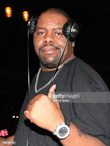 Biz Markie spins at the Brooklyn Bowl on December 27, 2012 in New York City.