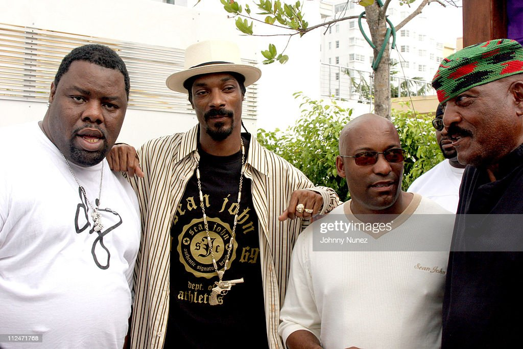 DJ Biz Markie,Snoop Dogg, John Singelton and Jim Brown