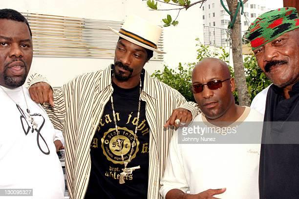 DJ Biz MarkieSnoop DoggJohn Singelton and Jim Brown