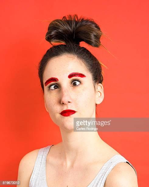 Bizarre make-up