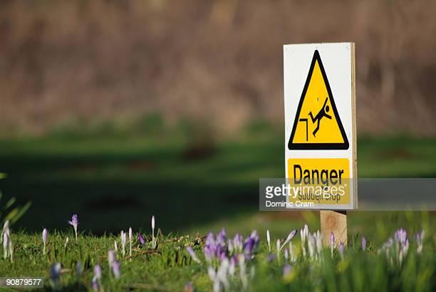A bizarre warning sign