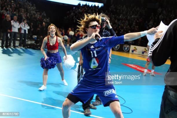 Bizutage Samuel HONRUBIA - - France / Serbie - Match amical -Montpellier,