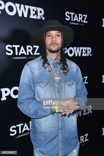 Bizzy Bone attends STARZ Power Season 4 LA Screening And Party at The London West Hollywood on June 23 2017 in West Hollywood California