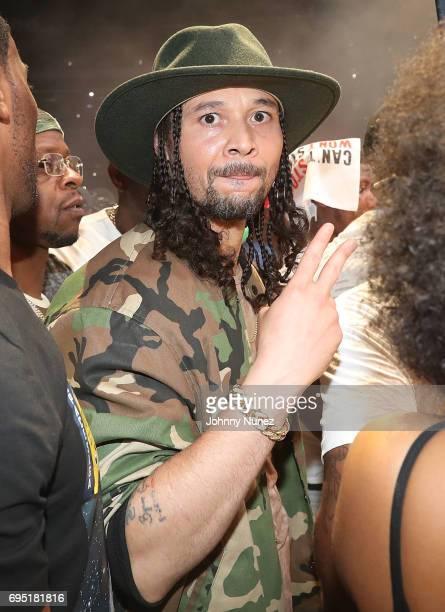 Bizzy Bone backstage at the 2017 Hot 97 Summer Jam at MetLife Stadium on June 11 2017 in East Rutherford New Jersey