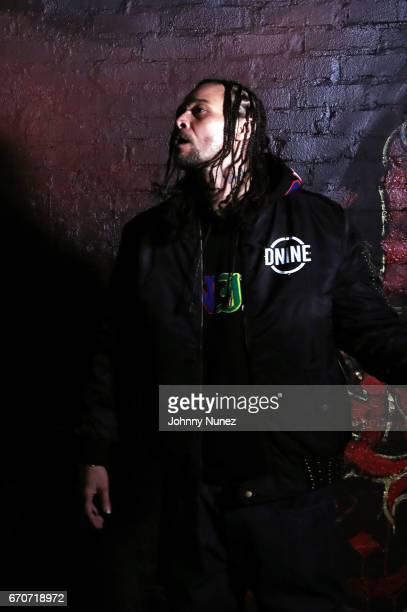 Bizzy Bone on set at the Bone Thugz N Harmony Changed The Story Video Shoot on April 19 2017 in New York City