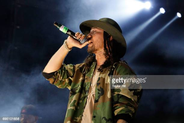 Bizzy Bone performs during the 2017 Hot 97 Summer Jam at MetLife Stadium on June 11 2017 in East Rutherford New Jersey
