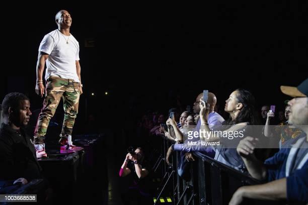 Bizzy Bone Wish Bone Layzie Bone Krayzie Bone and FleshnBone of Bone Thugs n Harmony pose for a photo back stage during the All Star Throwback Jam...