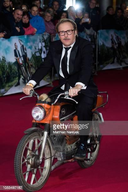 Bjarne Maedel attends the '25 km/h' movie premiere at CineStar on October 25, 2018 in Berlin, Germany.
