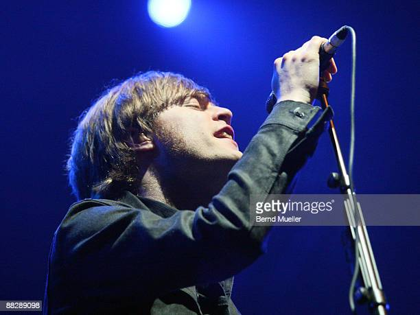 Bjoern Dixgard of Mando Diao performs on stage on day 3 of Rock Im Park at Frankenstadion on June 7 2009 in Nuremberg Germany