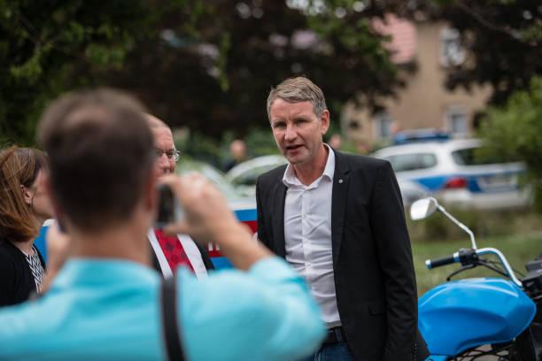DEU: AfD Campaigns In Brandenburg