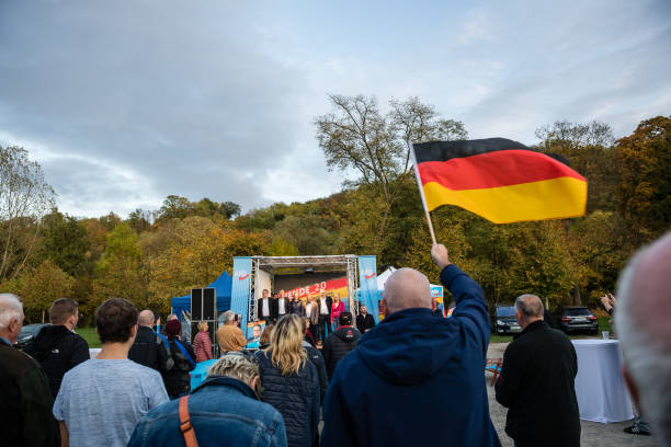 DEU: The AfD Campaigns In Thuringia State Elections
