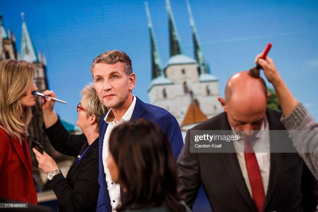 Thuringia Holds State Elections : Nachrichtenfoto