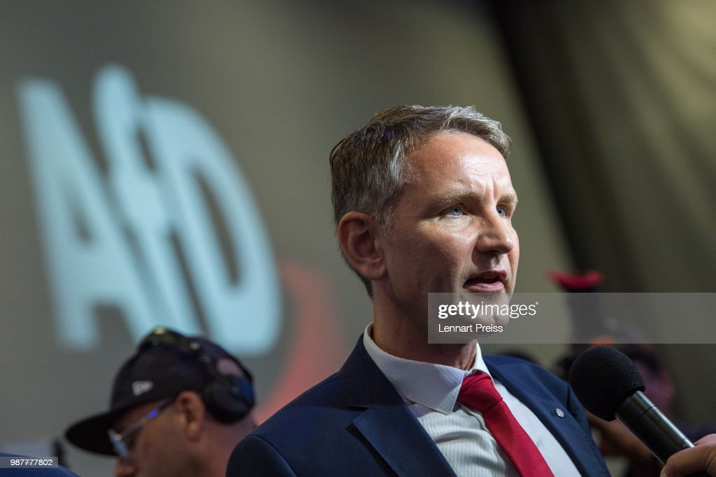 Right-Wing AfD Political Party Holds Federal Congress : Nachrichtenfoto