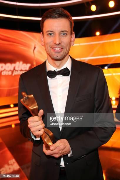 Bjoern Kircheisen with award during the 'Sportler des Jahres 2017' Gala at Kurhaus BadenBaden on December 17 2017 in BadenBaden Germany