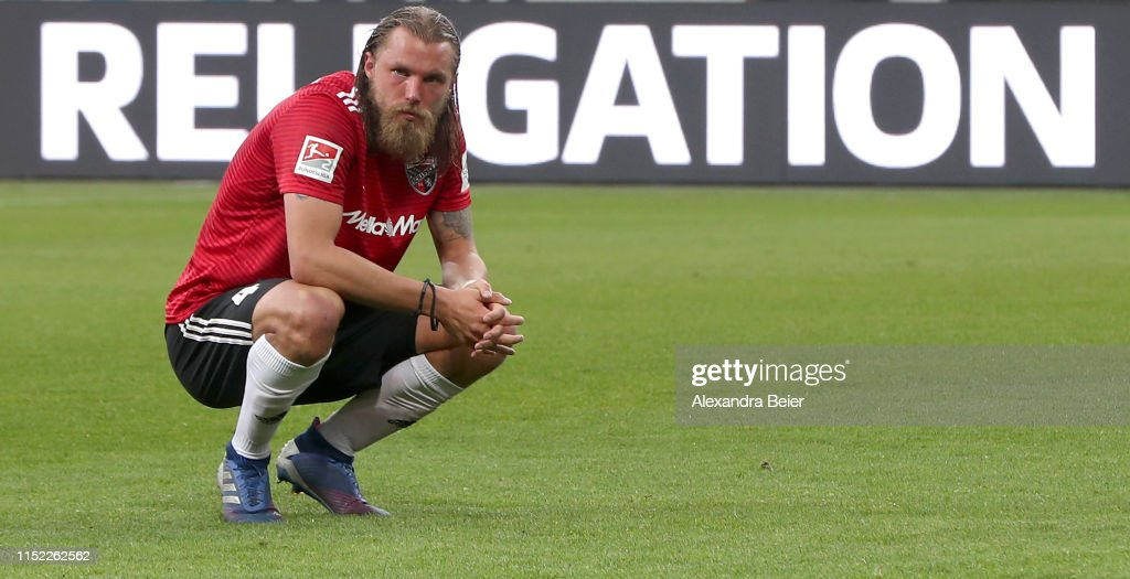 FC Ingolstadt v Wehen Wiesbaden - 2. Bundesliga Playoff Leg Two : News Photo