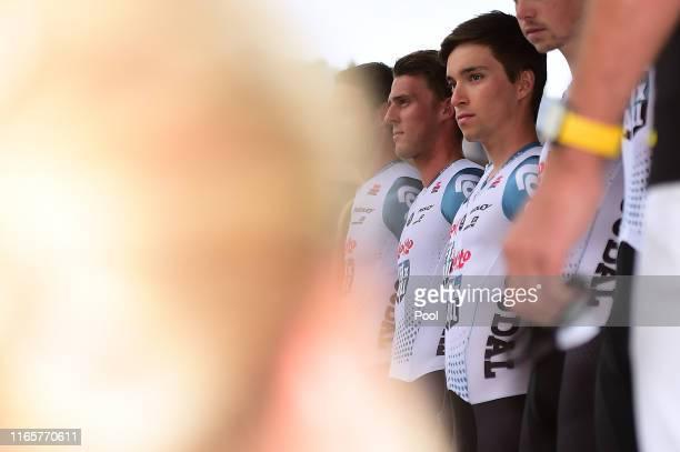 Bjorg Lambrecht of Belgium and Team Lotto Soudal / during the 76th Tour of Poland 2019 Team Presentation / Rynek Krakow Main Market Square / #TDP19 /...