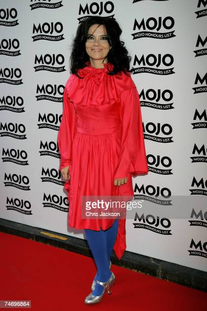 Bjork arrives at The MOJO Honours List Awards at The Brewery on June 18 2007 in London England