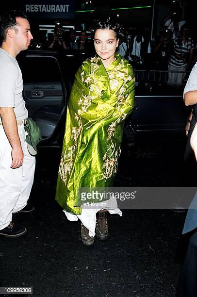 Bjork during 1994 MTV Video Music Awards at Radio City Music Hall in New York City New York United States