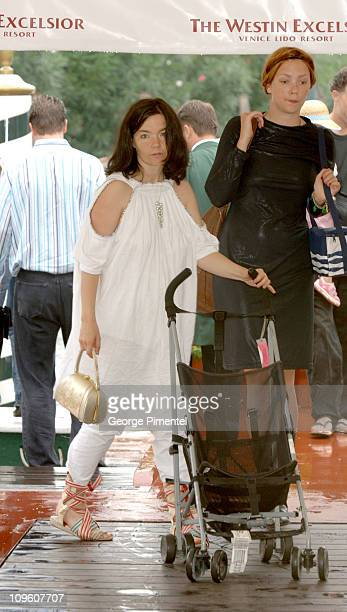 Bjork during 2005 Venice Film Festival Bjork Sighting September 3 2005 at Hotel De Bains in Venice Lido Italy