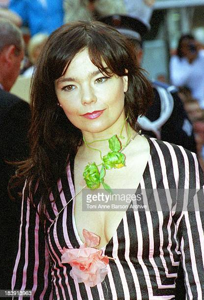 Bjork during 53rd Cannes Film Festival The Red Carpet at Palais des Festivals in Cannes France