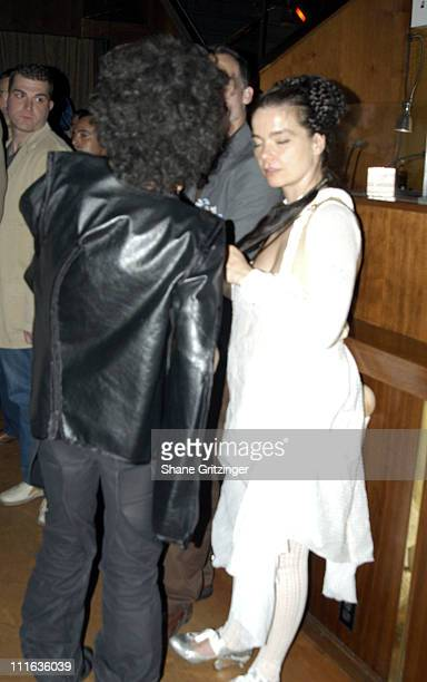 Bjork during Amanda Lepore and Harry* Host Charm School University May 23 2005 at Marquee in New York City NY United States