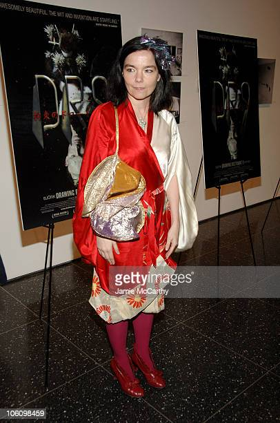 Bjork during IFC Films and MoMA Present New York Screening of 'Drawing Restraint 9' at MoMA in New York City New York United States